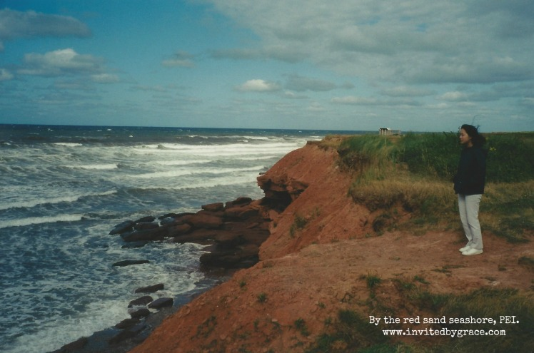 PEI Red Sand Shore w Kim