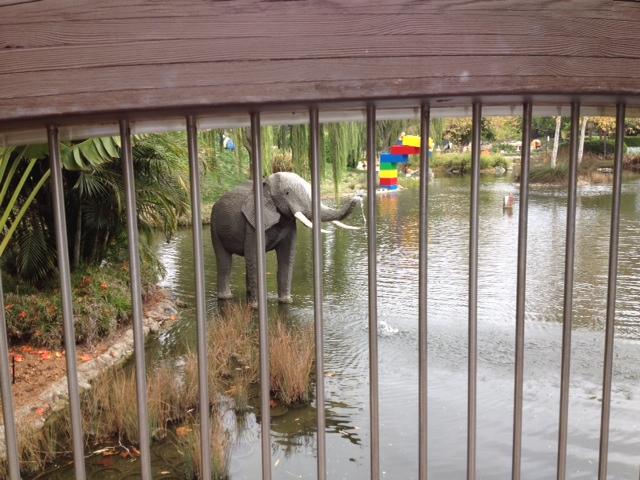 three legged elephant