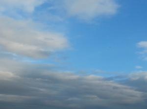 bluest skies